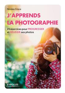 J'apprends la photographie Couverture de livre