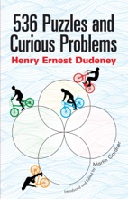 536 Puzzles And Curious Problems