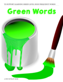 Green High Frequency Words