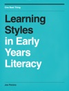 Learning Styles In Early Years Literacy
