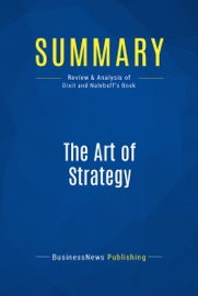 SUMMARY: THE ART OF STRATEGY