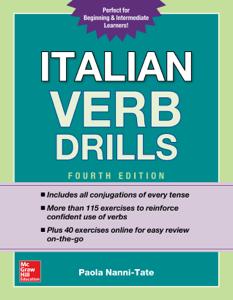 Italian Verb Drills, Fourth Edition Libro Cover