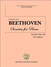 """Beethoven Piano Sonata No. 26 Op. 81a """"Les Adieux"""""""