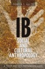 B Social And Cultural Anthropology