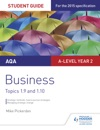 AQA A-level Business Student Guide 4 Topics 19-110