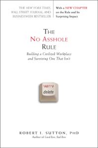 The No Asshole Rule La couverture du livre martien