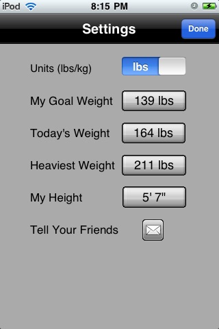 Virtual Weight Loss Model Lite