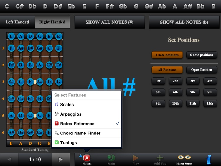Guitar Scales, Arpeggios & Chord Finder screenshot-4