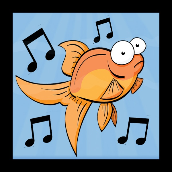dancing fish visualizer on the app store rh itunes apple com School of Fish Clip Art Skiing Clip Art Fish