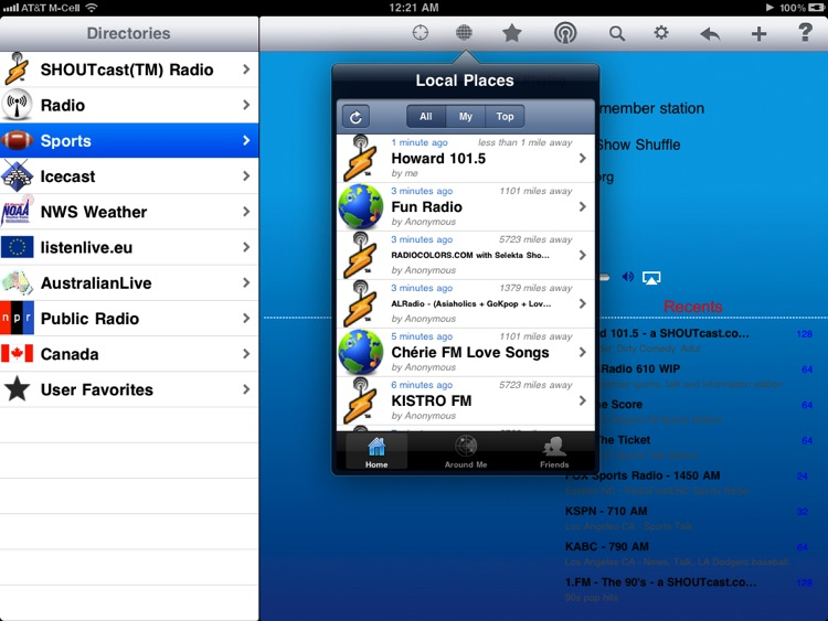 Radio - iPad Edition screenshot-0