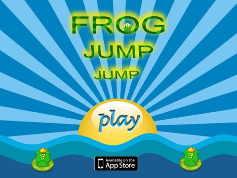 Frog Jump Jump Lite(HD) screenshot 1