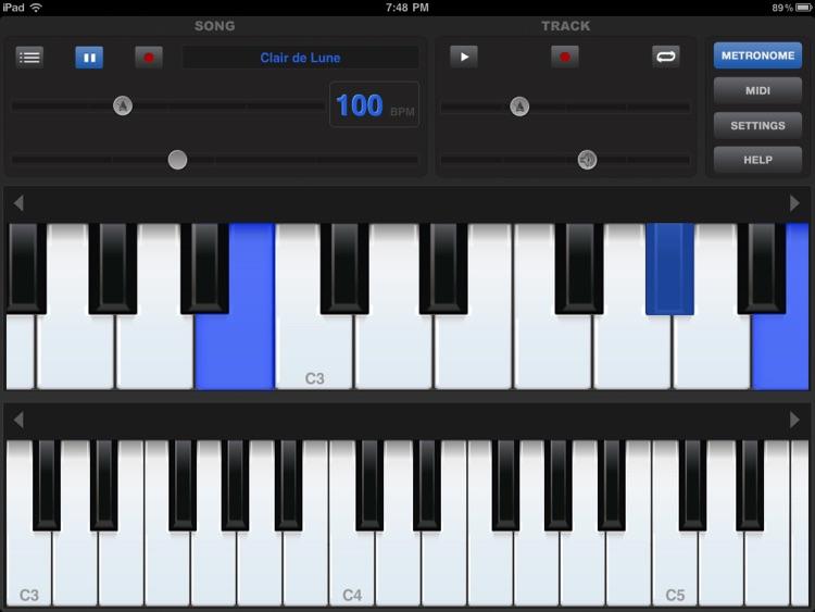 Piano Sharp HD screenshot-3
