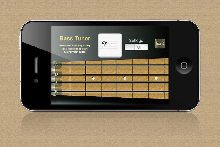 Bass Guitar Trainer screenshot-4