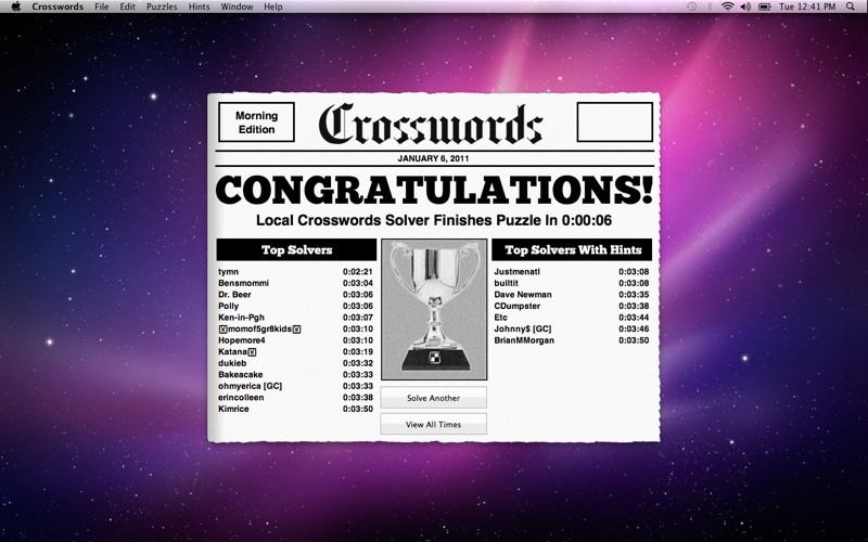 CrosswordLight Screenshot