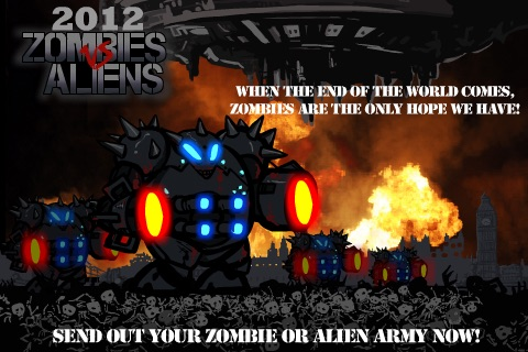 2012 Zombies vs Aliens FREE - Alien Edition