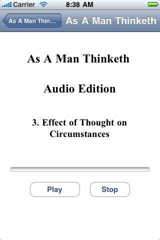 As A Man Thinketh - Audio Edition screenshot-2