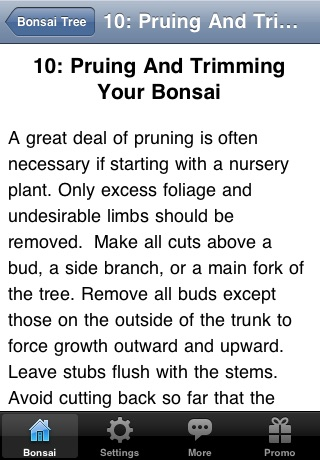 Bonsai Tree - The Art of Growing Bonsai Trees screenshot-4