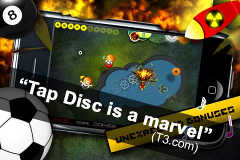 Tap Disc Lite screenshot-1