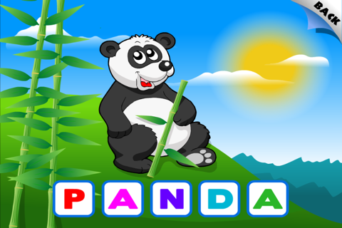 Animal Preschool Word Puzzles - FREE screenshot 3