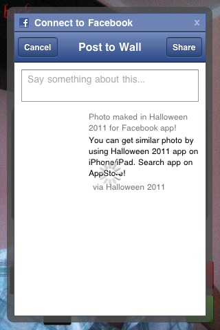 Halloween 2011 Free for Facebook screenshot-3