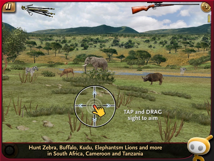 Deer Hunter: African Safari for iPad screenshot-0