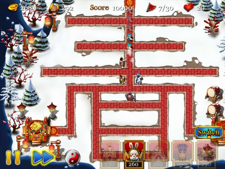Three Kingdoms TD - Spring Edition HD screenshot-3