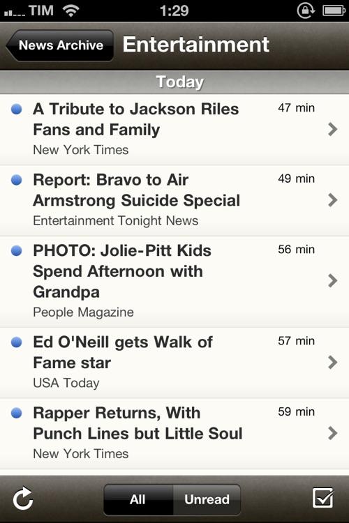 Cloud News Free - World News & Headlines screenshot-3