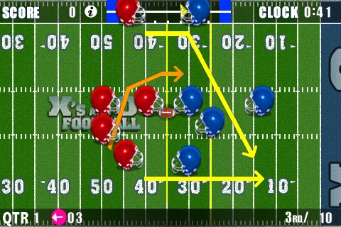 X's and O's Football® Lite - Call and Run Your Own Football Plays! screenshot-1