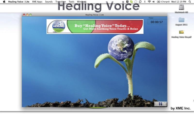 Healing Voice  Lite Screenshot
