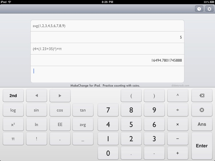 Calculess Free - Scientific Calculator for iPad screenshot-3