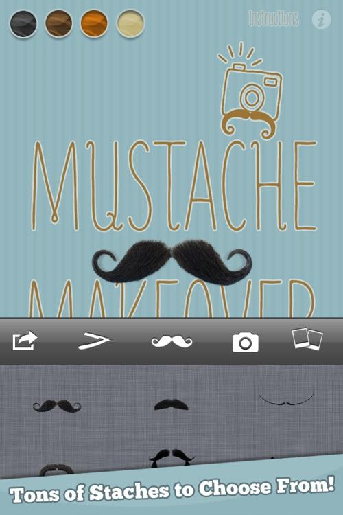 Mustache Makeover Lite