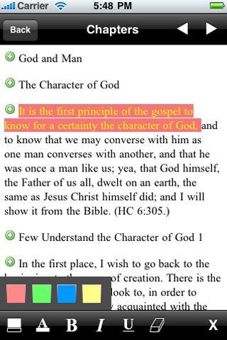LDS Discourses & Teachings of Joseph Smith Jr. screenshot-4