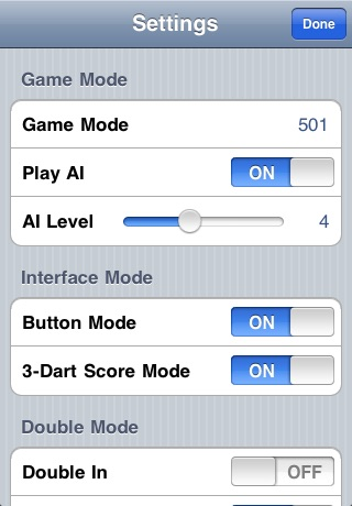 iNtuitive Darts Scorer screenshot-2