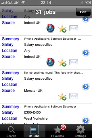 JobFinder screenshot-1