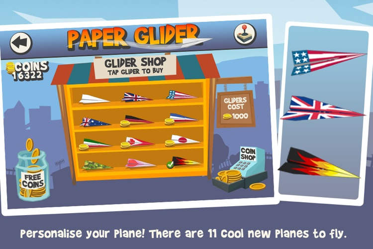 Paper Glider screenshot-4