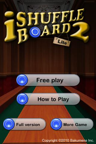 iShuffle Board 2 Free screenshot two