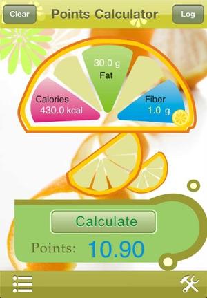 Points plus calculator app