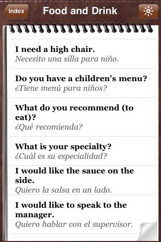 Spanish for Tourists - Audio Phrasebook screenshot-4