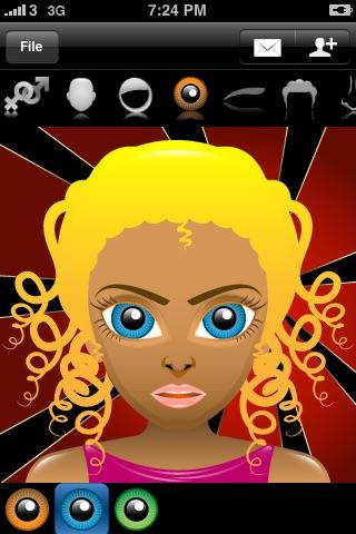 Avatar Free (Super Cute Contact Face Creator) screenshot-3
