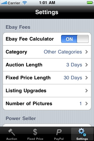 eBay & PayPal Fee Calculator screenshot-4