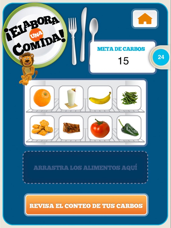 Contando Carbohidratos con Lenny for iPad screenshot-4