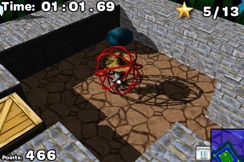 Puppet Labyrinth 3D Lite screenshot-4