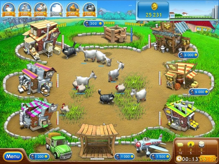 Farm Frenzy 2: Pizza Party HD screenshot-3