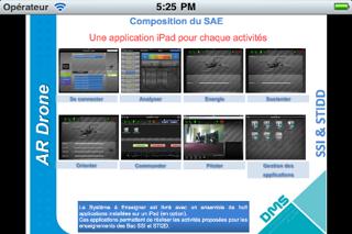 Screenshot #3 pour Système à Enseigner: AR.Drone