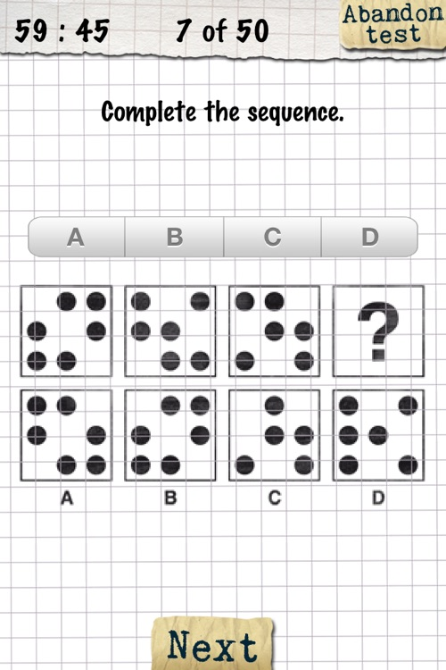 IQ-Test screenshot-1