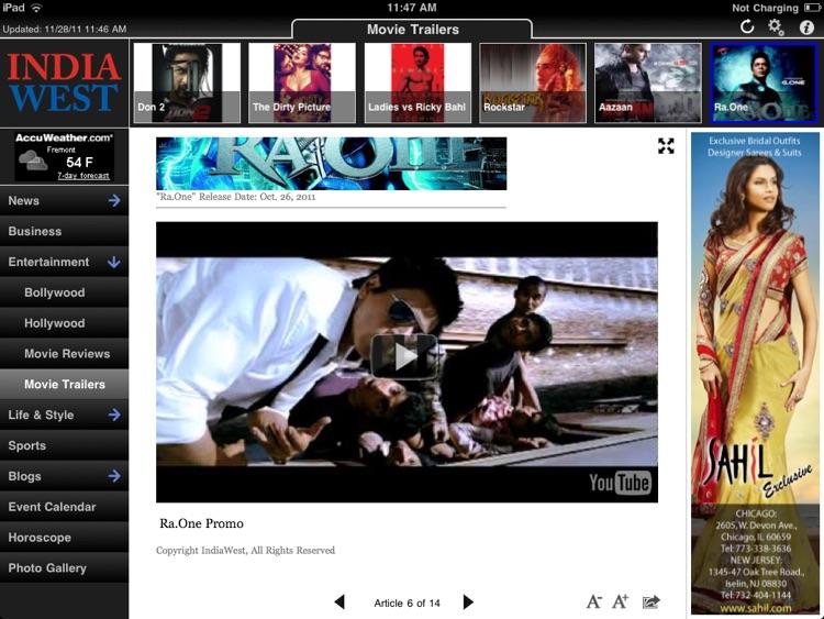 India West for iPad screenshot-3
