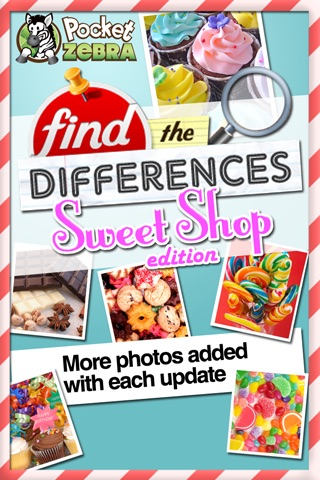Find the Differences - Sweet Shop Edition