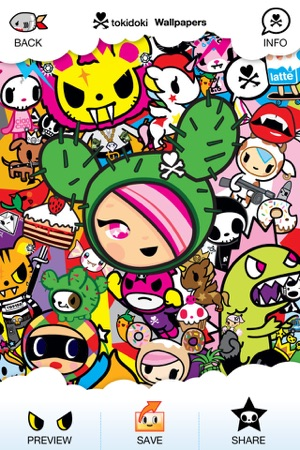Tokidoki Criminally Cute Backgrounds And Wallpapers On The App Store