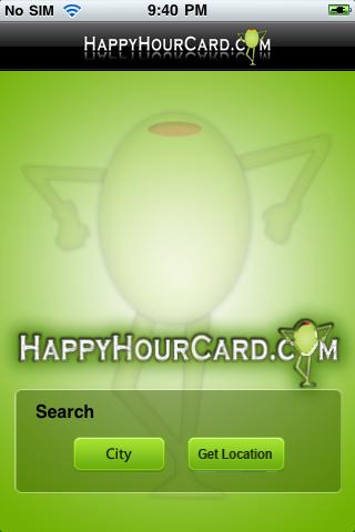 Happy Hour Card - náhled
