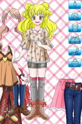 Dress Up Girl Lite screenshot-2